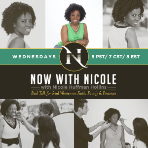 Join Now With Nicole Radio as we deliver information dedicating to helping women get real with their faith, family, and finances.
